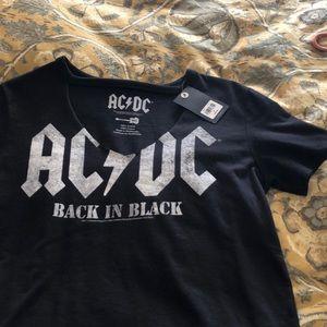 Lucky brand AC/DC t shirt